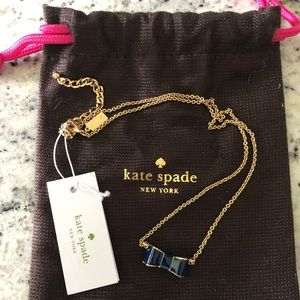 NWT Kate Spade Bow Necklace